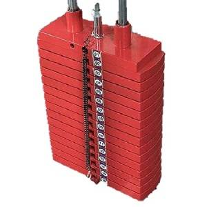 Body Solid 200lb Steel Red Plates for Selectorized Weight Stacks