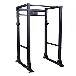 Body Solid Commercial Monster Power Squat Rack Safe Cage GPR400