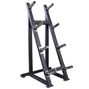 Body Solid Olympic Bumper Plate Tree Holder Storage Rack GWT76