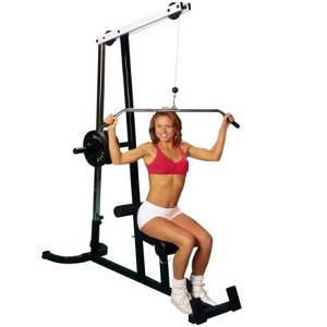 Yukon Lat Pull Down Machine Upper & Lower Cable Pulley ELM-158